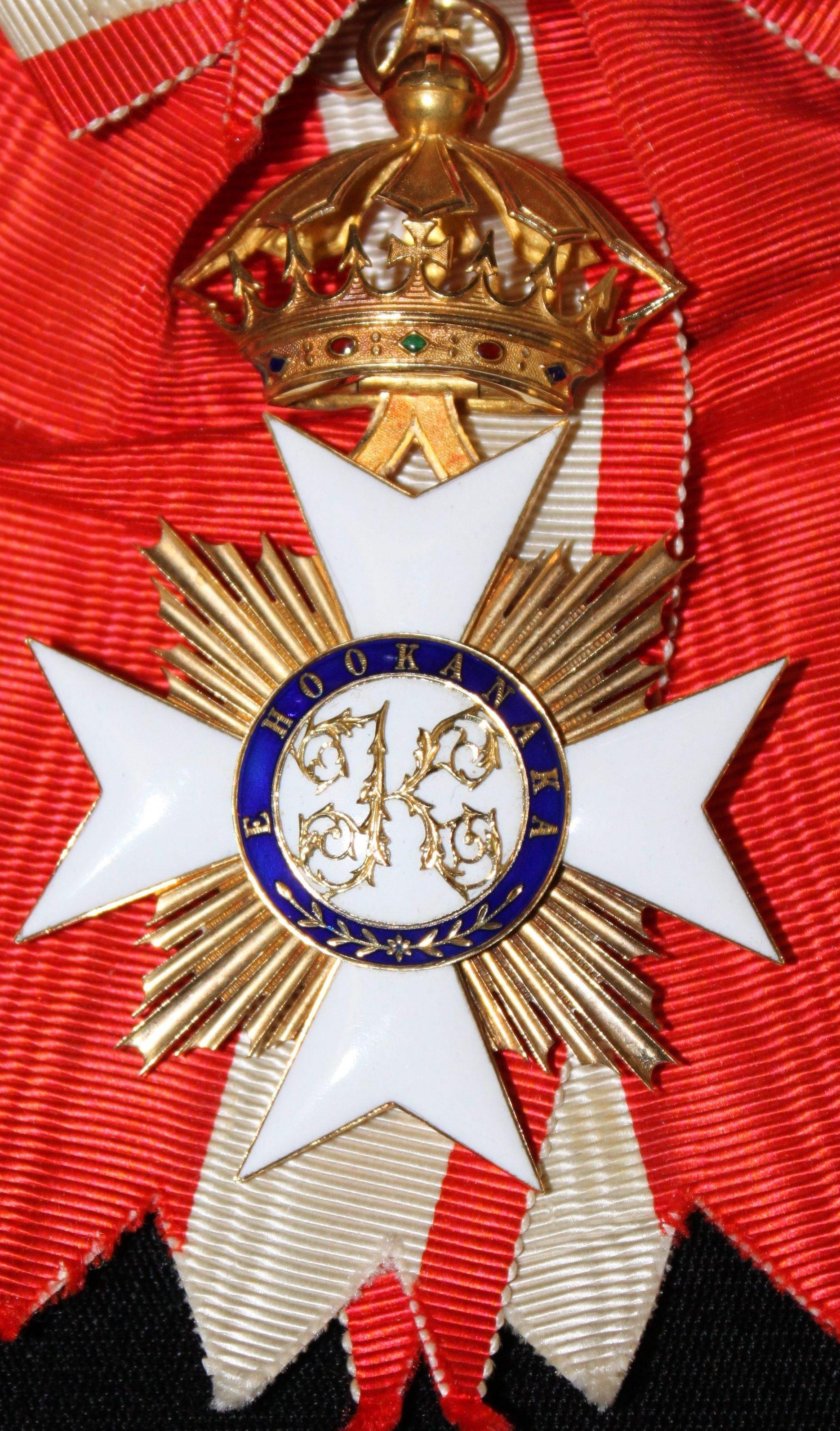 Hawaiian Royal order